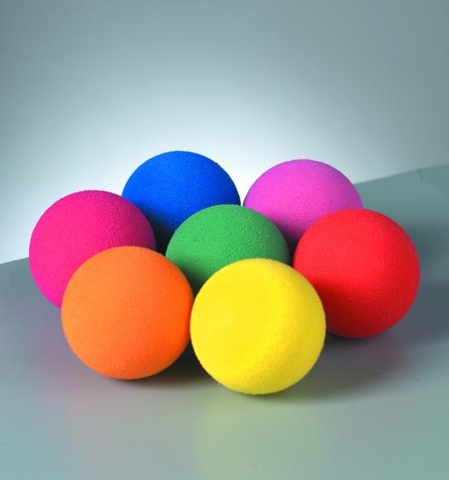 Efco Moosgummibälle 20mm in sortierten Farben