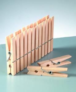 Bastel-Holzklammer in natur