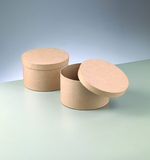 Efco runde Pappschachtel, 16x9,5 cm, zum Basteln