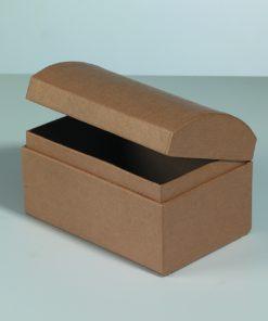 Efco Papp-Schatztruhe, 12x8x7,5cm, zum Basteln
