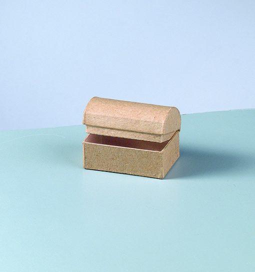 Efco Papp-Schatztruhe, 6x4x4cm, zum Basteln