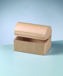 Efco Papp-Schatztruhe, 15x10x10,5cm, zum Basteln