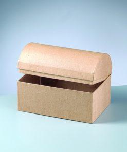 Efco Papp-Schatztruhe, 18x12x12,5cm, zum Basteln