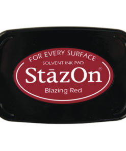 Stempelkissen StazOn in feuerrot