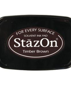Stempelkissen StazOn in dunkelbraun