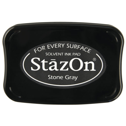 Stempelkissen StazOn in steingrau