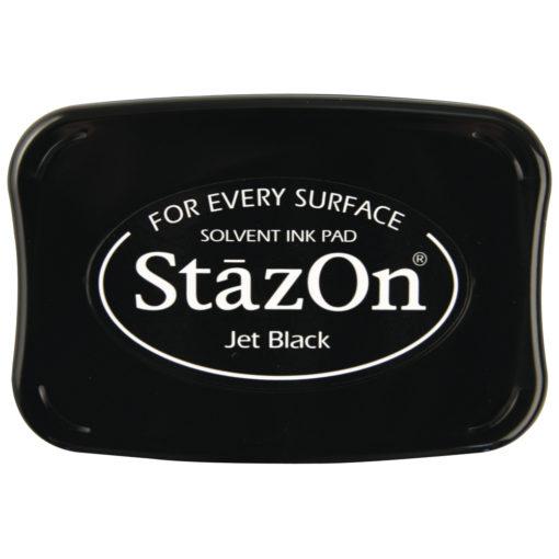 Stempelkissen StazOn in schwarz