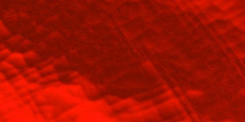 Wachsplatte zum Verzieren in metallic-rot