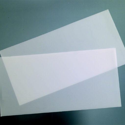 Wachsplatte zum Verzieren in transparent