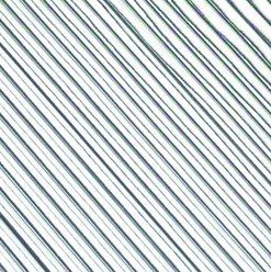 flache Wachsstreifen 1mm, in silber