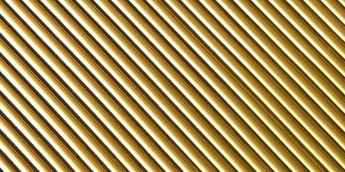 runde Wachsstreifen 2mm, in gold