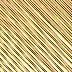 flache Wachsstreifen 2mm, in gold