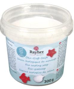 Rayher Öko-Rohseife weiß, zum Seifengießen