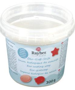 Rayher Öko-Rohseife farblos, zum Seifengießen