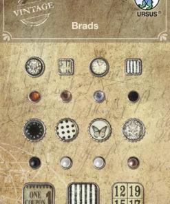 Ursus Vintage Brads für Scrapbooking