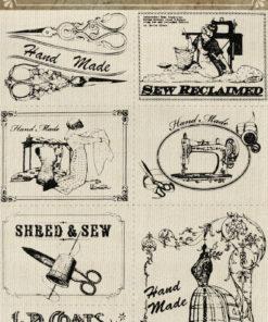 Ursus Vintage 3D- Canvas Sticker
