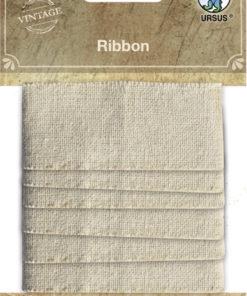 ursus Vintage Stoffbänder zum Gestalten, Scrapbooking