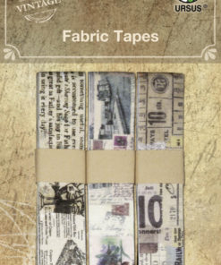 Vintage Stoffbänder 3-fach sortiert