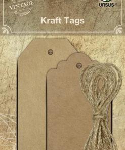 Ursus Vintage Kraft Tags