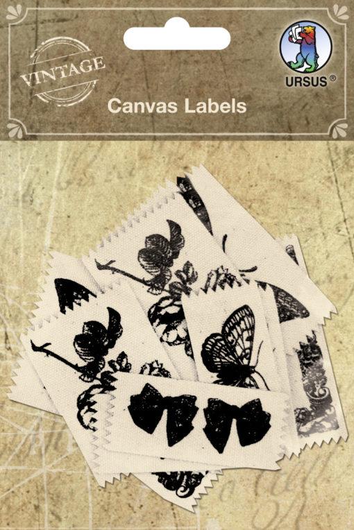 Canvas Labels für Scrapbooking und Gestaltung von Alben