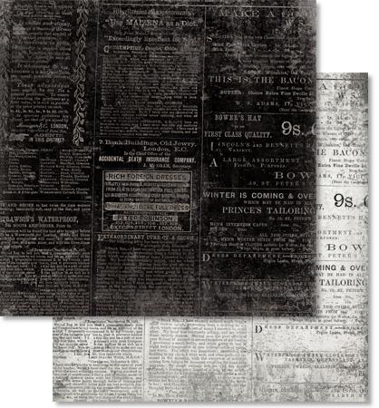 Scrapbooking Papier Vintage Motiv
