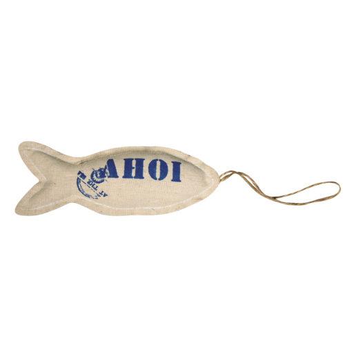 Stoff Hänger Fisch Ahoi