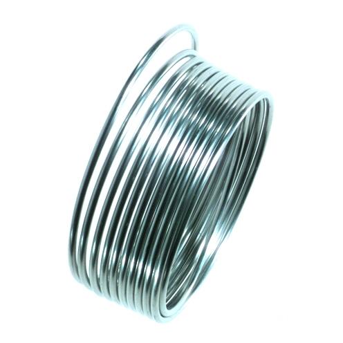 Efco Aluminiumdraht silber, 2mm Ø, 5 m