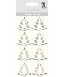 Ursus Design-Sticker Tannenbaum kristall