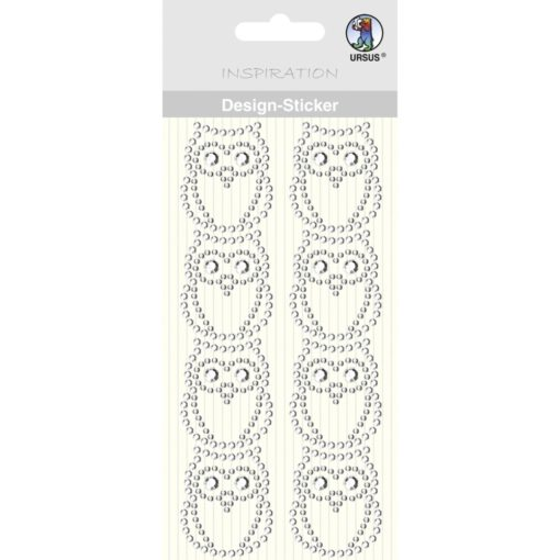 Ursus Design-Sticker Eule kristall