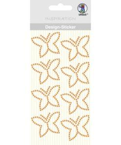 Ursus Design Sticker Schmetterling orange