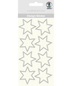 Ursus Design-Sticker Stern kristall