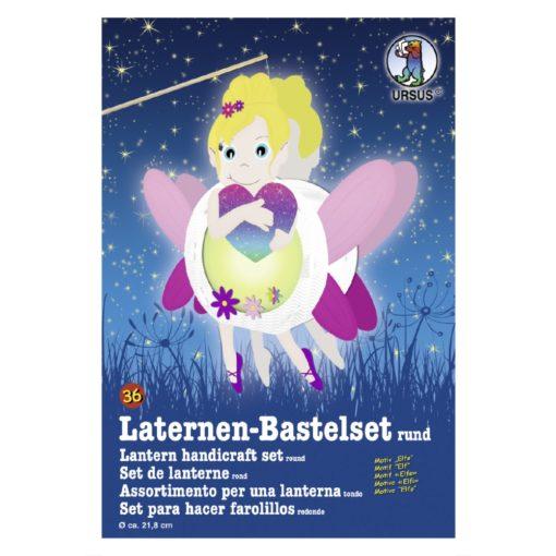 Ursus Laternen-Bastelset, rund, Elfe
