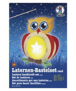 Ursus Laternen-Bastelset, rund, Eule