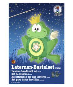 Ursus Laternen-Bastelset, rund, Frosch