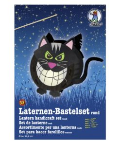 Ursus Laternen-Bastelset, rund, Katze