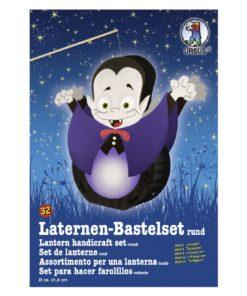 Ursus Laternen-Bastelset, rund, Vampir
