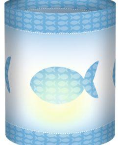Ursus Mini-Tischlicht mit Motiv, 10x27cm, zur Dekoration