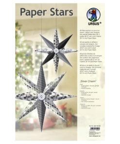 Ursus Paper Stars Silver Charm, Papiersterne