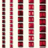 Ursus Schmucksteinsticker eckig, diverse Größen sortiert, selbstklebend, zum Dekorieren