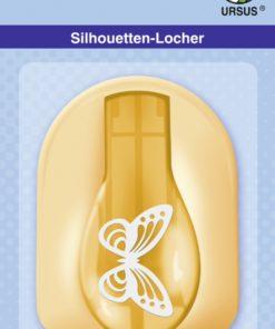 Ursus Silhouetten-Locher Schmetterling zum Stanzen von Papier