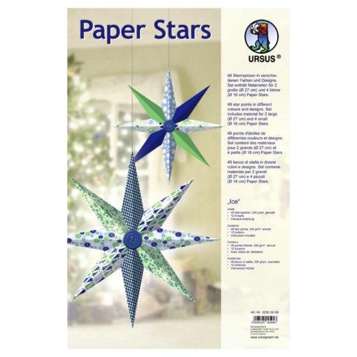 Ursus Paper Stars, Ice, Papiersterne