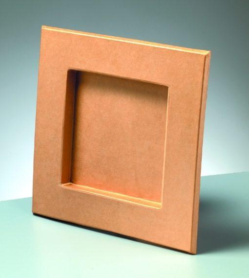 Bilderrahmen aus Pappe, 26,5x26,5x2 cm