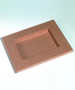 Bilderrahmen aus Pappe, 30x24x2 cm