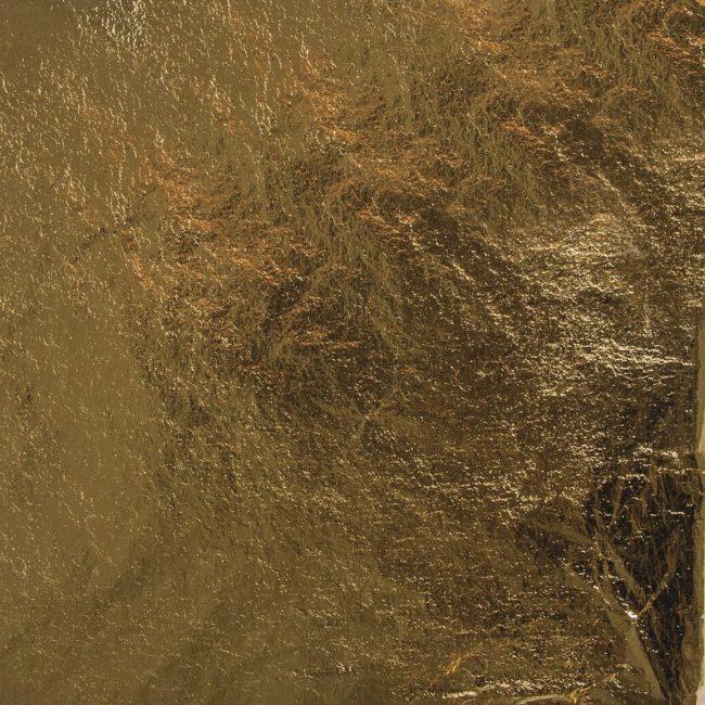 Deco-Metall 14 x 14 cm gold, 5 Blatt