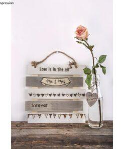 Holz-Lattenrahmen, Hochzeit, zum Hängen