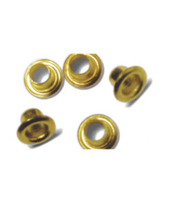 Easy Eyelets, rund, gold