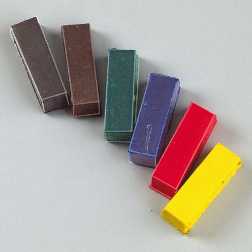 Farbpigmente für Wachs