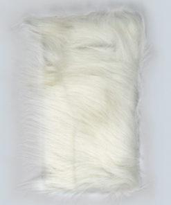 Fellimitat Langhaarplüsch zur textilen Gestaltung