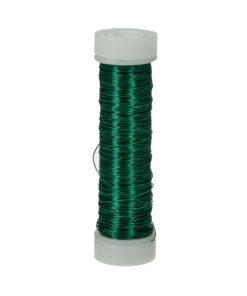 Efco Kupferdraht grün-metallic, 0,18 mm Ø, Rolle 25m