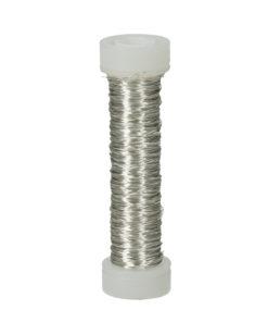 Efco Kupferdraht, versilbert, 0,18 mm Ø, Rolle 25m